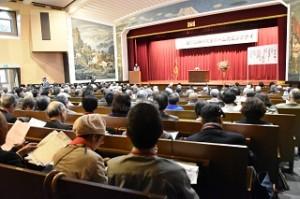 2016年 会場内の様子